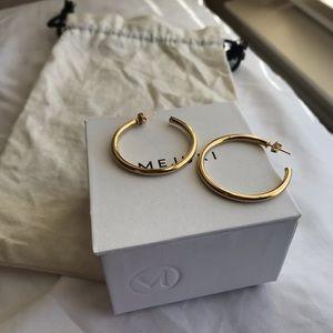 Mejuri // Gold Hoop Earrings
